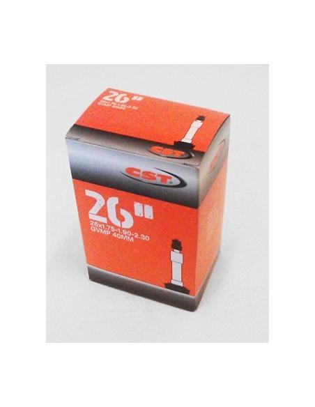 Slang 27, 37/40-609/642 Cykelventil 40 mm