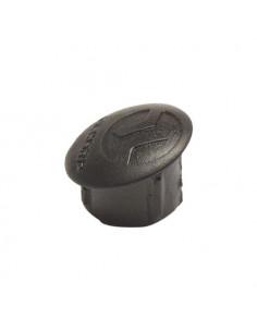 Styrstamsplugg 12mm svart