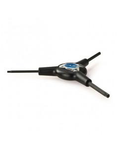 Park Tool Torxverktyg Y-nyckel TWS-3C, T10, T25 och T30