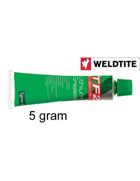 Weldtite Litiumfett tub 5gram