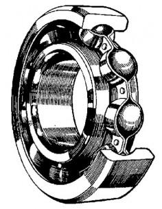 Kullager 30204