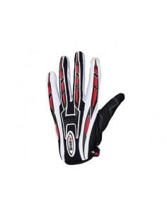 Shiro MX-01 handske. Svart/vit