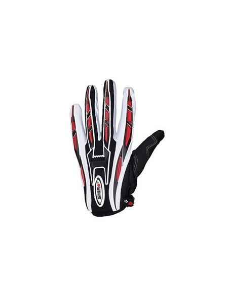 Handske Shiro MX-01. Svart/vit