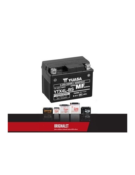 Batteri YTX4L-BS