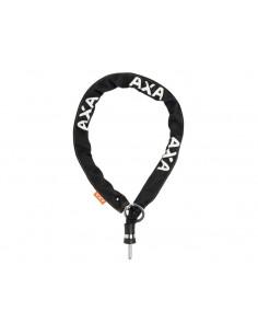 Kättinglås plug-in grovt, Axa 8 mm kätting 110 cm lång för solid ringlås, Svart,