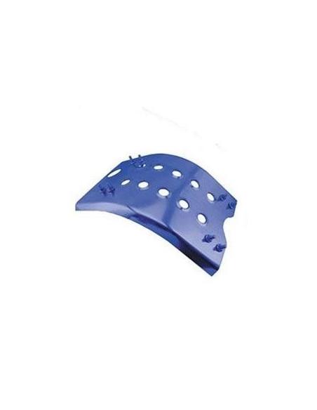 Hasplåt, Aluminium blått