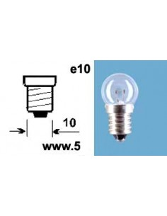 Glödlampa 6V5W, E10