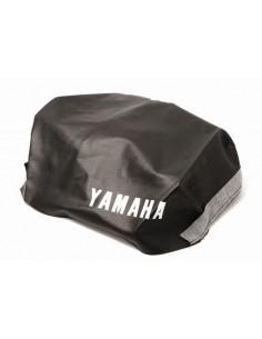 Sadelklädsel Yamaha DT50 svart