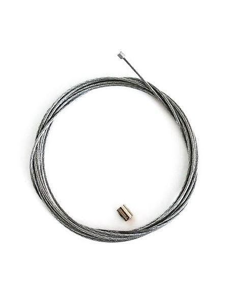 Universal Gaswire med gasnippel L:2,50,1,2mm tjock.