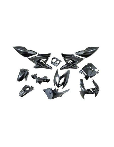 Kåpset Yamaha Aerox,  12 delar (Karbonlook)