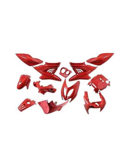 Kåpset Yamaha Aerox, 12 delar (Ferrariröd)