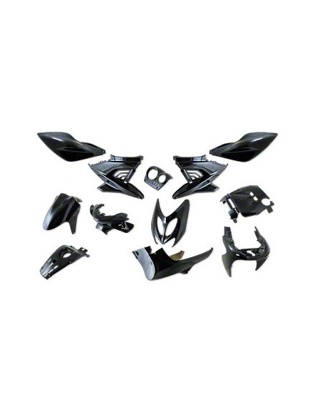 StylePro Kåpset (Aerox) 12 delar (Black Metal)
