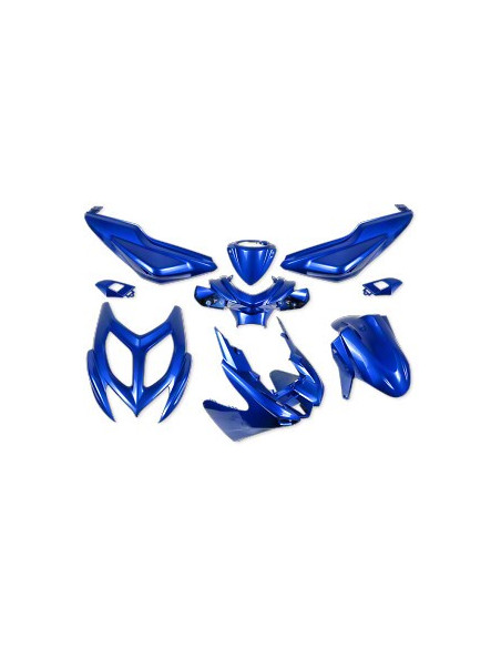 Kåpset Yamaha Aerox,  9 delar (Blue Metal)