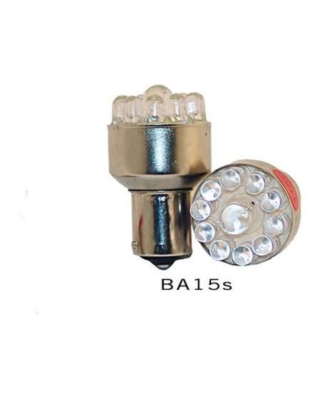 LED lampa 12V grön