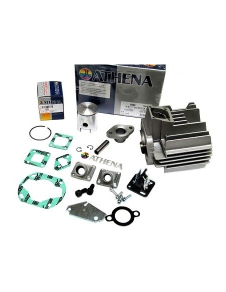 Cylinder Sachs 504/505 70cc 45mm Athena med reedventil