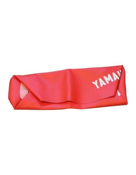 Sadelöverdrag röd Yamaha DT50MX AC