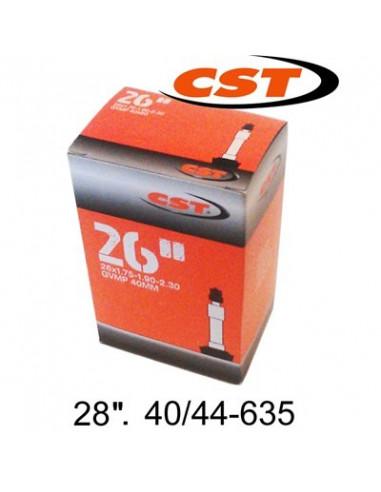 Slang CST 28, 40/44-635, Cykelventil 40mm