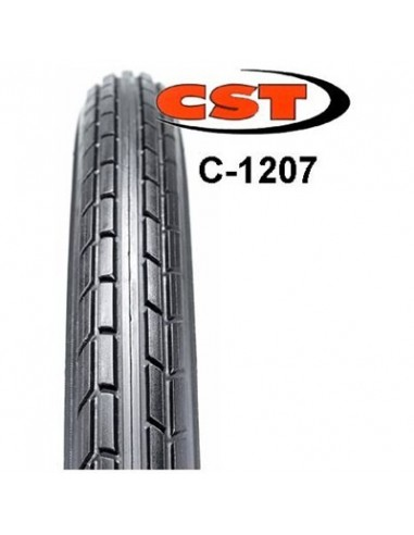 Cykeldäck CST C-1207 Svart/vit, 47-622