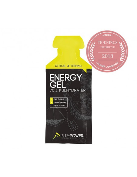 Purepower Energ gel Lemon Tea