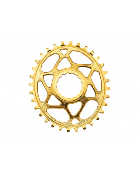 Absolute Black Chainring Singlespeed 34T Guld