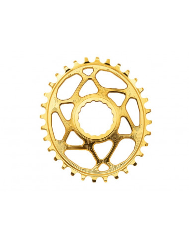 Absolute Black Chainring Singlespeed 32T Guld