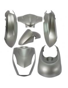 Kåpkit Peugeot Kisbee, 6 delar ,  Grey