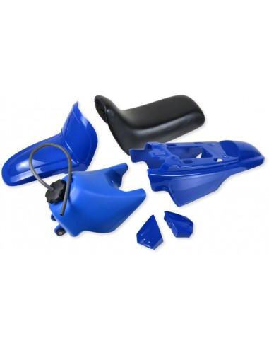 Kåpkit ink tank/sadel, blå
