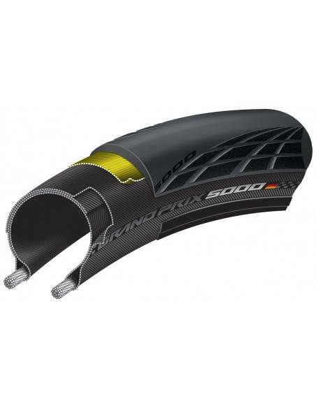 Continental GP5000 32-622 Svart