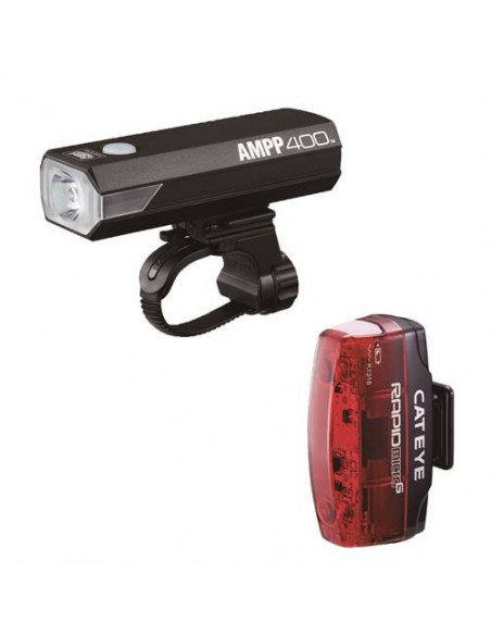 Cateye AmpP400 & Rapid micro