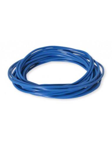 Elkabel 0,5 mm, 5 meters, Blå