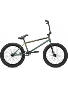 "Kink Cloud Freecoaster 20"", Freestyle BMX 21"", Gloss Translucent Teal"