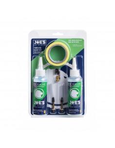Tubeless Ready Kit JOE´S Eco Sealant, racerventil , 21mm fälg