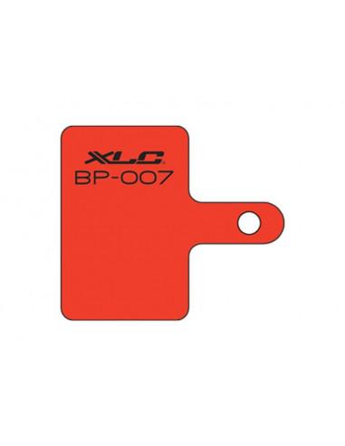 XLC Skivbromsbelägg BP-O07 FörTektro, Shimano och XLC Organisk