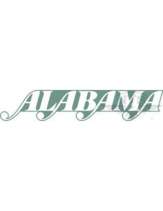 Bakskärmsdekaler Alabama