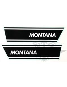 Sidokåpsdekaler Montana