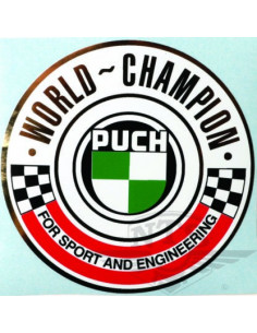 "Dekal ""World Champion"" 90,5mm"