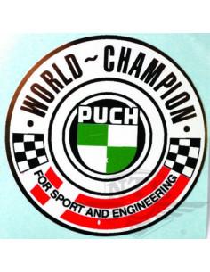 "Dekal ""World Champion"" (50mm)"