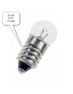 Glödlampa 6V 3W