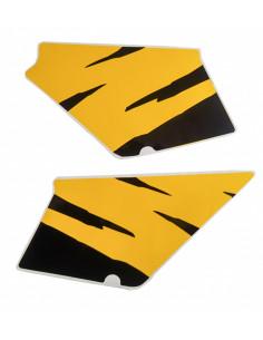 Kåpdekaler Honda MT gul/svart