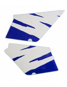 Kåpdekaler Honda MT vit/blå