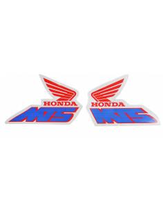 Tankdekaler Honda MT för vit moped