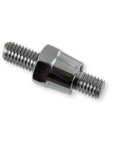 Adapter Spegelfäste 8mm x 8mm - Krom
