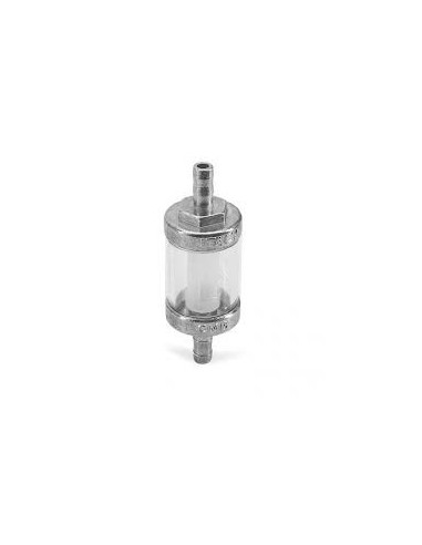 Bensinfilter Krom Transparent – (6MM)