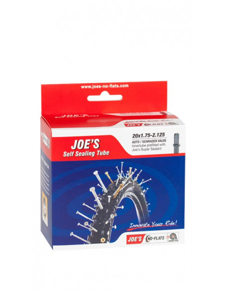 Joe´s Self Sealing Tubes, 27.5x2-2.50 (racerventil)