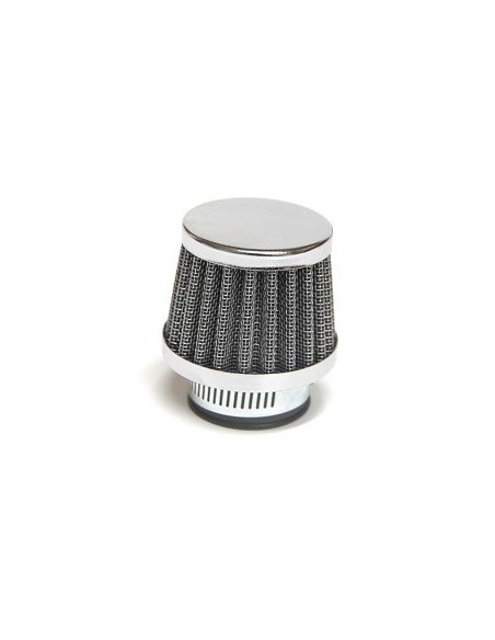 Luftfilter Grå/Krom  30 mm