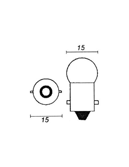 Glödlampa 12V 10W orange