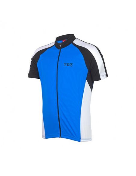Tec Basic Kortrmad Cykeltröja Blå