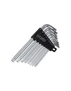 PRO Torxnyckelsats, T10/T15/T20/T25/T30/T40/T45/T5