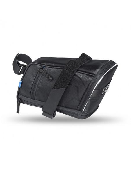Pro Sadelväska Maxi Plus Strap, spännrem svart