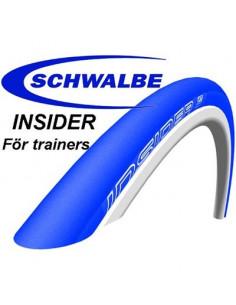 Schwalbe INSIDER Vikbar 23622, 700x23C BLÅTT, för Trainer